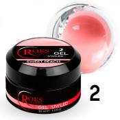 Камуфлирующий гель Roks (Opium) 002 нежный персик 30 грамм