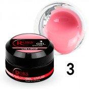 Камуфлирующий гель Roks (Opium) 003 розовый нюд 15 грамм
