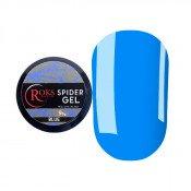 Гель-паутинка Roks 09 голубой неоновый 5 мл