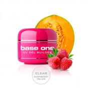 Конструирующий прозрачный гель Silcare Clear Raspberry Melon однофазный 50 грамм