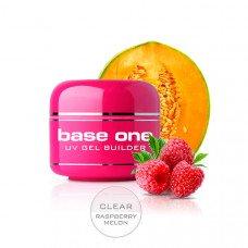 Прозрачный гель Silcare Clear Raspberry Melon однофазный 250 грамм