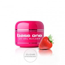 Прозрачный гель Silcare Clear Strawberry однофазный 500 грамм