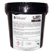 Конструирующий прозрачный гель Silcare Led Blue однофазный 1 кг