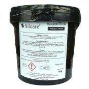 Прозрачный гель желе Silcare Thick Violet однофазный 1 кг