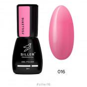 Гель-лак Siller 016 розовый барби 8 мл