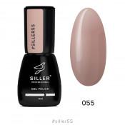 Гель-лак Siller 055 светло-коричневый 8 мл