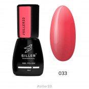 Гель-лак Siller 033 кораллово-красный 8 мл