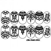 Слайдер-трафарет для ногтей CN001