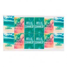 Слайдер для ногтей летний океан, пляж, небо