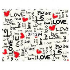 Слайдер для ногтей XF1294 Love