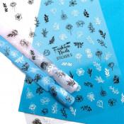 Наклейки для ногтей на клеевой основе ST5