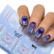 Слайдер для ногтей W021