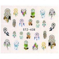 Слайдер для ногтей ловец снов stz438