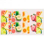 Слайдер для ногтей апельсин, яблоко, лимон, клубника, вишня, арбуз С702