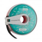 Сменная файл-лента papmAm в пластиковой катушке Bobbinail STALEKS PRO 100 грит (6 м) (ATC-100)