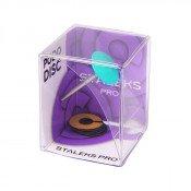 Cмарт диск Cталекс пластиковый скошенный PRO М с файлами кольцом 180 грит 5 шт (20 мм) (SPDset-20)