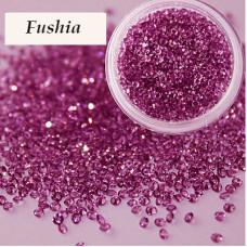 Хрустальная крошка Crystal Fushia 100 шт. аналог Сваровски