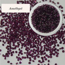 Хрустальная крошка Crystal Amethyst 100 шт. аналог Сваровски