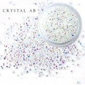 Хрустальная крошка Crystal Crystsal Ab 100 шт.