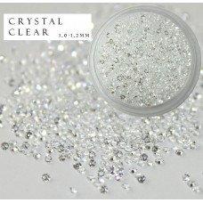 Хрустальная крошка Crystal Crystsal Clear 1440 шт. аналог Сваровски