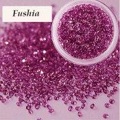 Хрустальная крошка Crystal Fushia 100 шт.