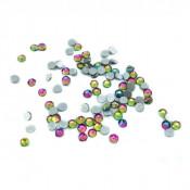 Стразы rainbow SS6 100 шт. стеклянные аналог Сваровски