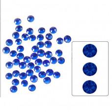 Аналог страз Сваровски Sapphire SS4 100 шт. стеклянные стразы