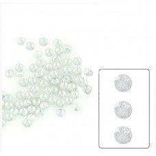 Аналог страз Сваровски White Opal SS4 100 шт. стеклянные стразы