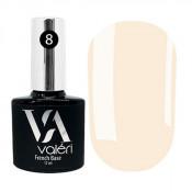 French rubber base Valeri 008 светлая розовато-бежевая 12 мл