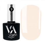 French rubber base Valeri 009 светло-розовая 12 мл