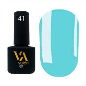 Гель-лак Valeri Color 041 яркий голубой 6 мл