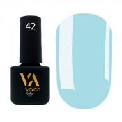 Гель-лак Valeri Color 042 светло-лазурный 6 мл