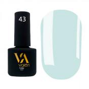 Гель-лак Valeri Color 043 светло-голубой 6 мл