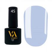 Гель-лак Valeri Color 045 холодный светло-синий 6 мл