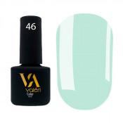 Гель-лак Valeri Color 046 зеленовато-голубой 6 мл