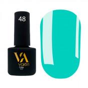 Гель-лак Valeri Color 048 яркий бирюзовый 6 мл