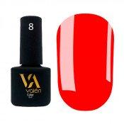 Гель-лак Valeri Color 008 неоновый красный 6 мл