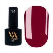 Гель-лак Valeri Color 014 винно-бордовый 6 мл