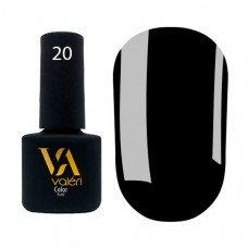Гель-лак Valeri Color 020 чёрный 6 мл