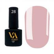 Гель-лак Valeri Color 028 пастельный розово-бежевый 6 мл