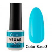 Цветная база Vegas Color base 003 6 мл - небесно-голубая