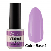 Цветная база Vegas Color base 004 6 мл - лиловая