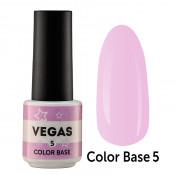 Цветная база Vegas Color base 005 6 мл - светло-сиреневая