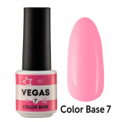 Цветная база Vegas Color base 007 6 мл - розовая