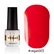 Гель-лак Vegas 003 6 мл