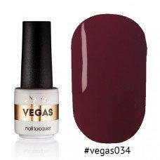 Гель-лак Vegas 034 6 мл