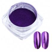 Зеркальная втирка Люкс 06 фиолетовая 0,5г