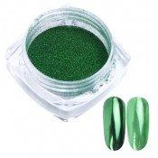 Зеркальная втирка Люкс 10 зеленая 0,5г