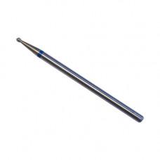 Алмазная насадка 001 микро-шарик средняя насечка синяя