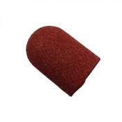Колпачок абразивный для педикюра ∅ 16 мм 120 грит красный